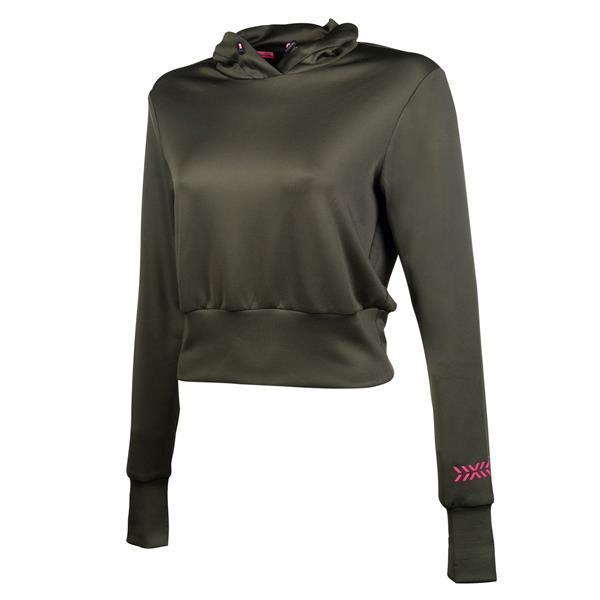 HKM Survival Sweatshirt - T4PYQC536B hkm survival sweatshirt green studio side 12404