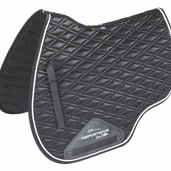 Performance Euro Cut Luxe Saddlecloth