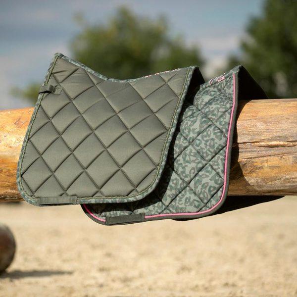 HKM Survival Saddlecloth - Camouflage - hkm survival camouflage saddle pad studio lifestyle