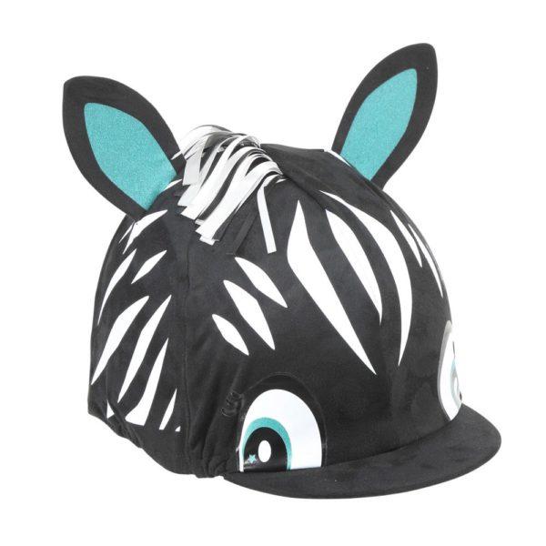 Zebra Hat Cover