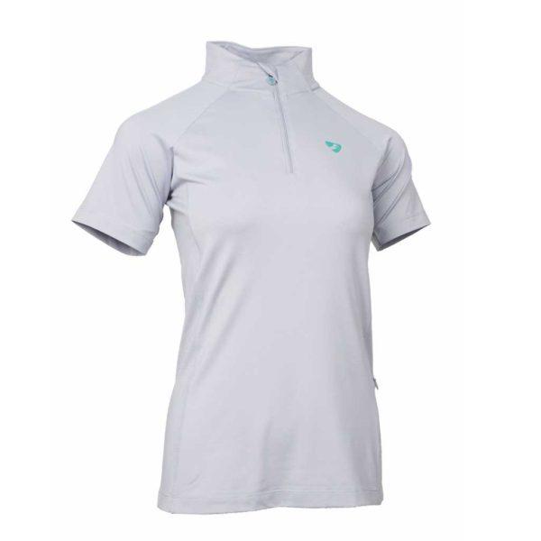 Aubrion Highgate Short Sleeve Base Layer - Ladies - 8163 GREY 1