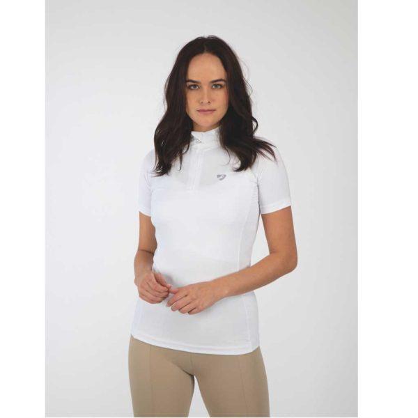 Aubrion Highgate Short Sleeve Base Layer - Ladies - 8163 WHITE 1