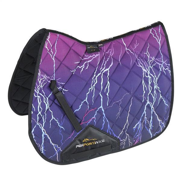Performance Sport XC Saddlecloth Purple Lightning
