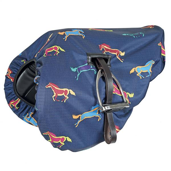 Shires Waterproof Ride On Saddle Cover - ZCC73HKX4F 233 HRSPRT