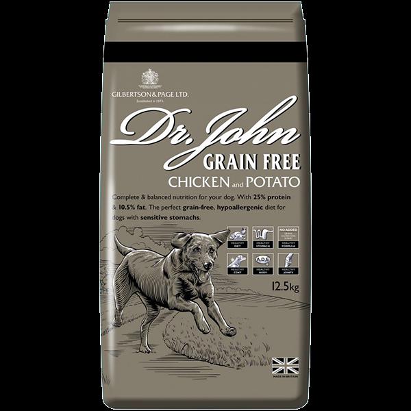 Dr Johns Grain Free Chicken & Potato 12.5Kg - dr johns grain free chicken potato 125kg
