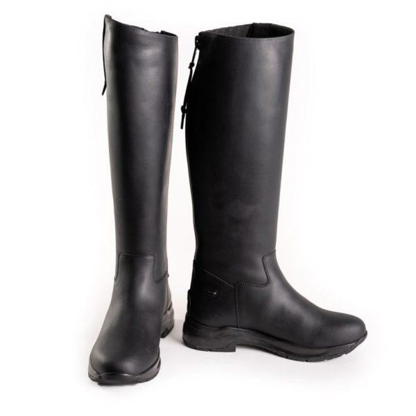 Toggi Calgary Pro - toggi calgary pro long leather boot black