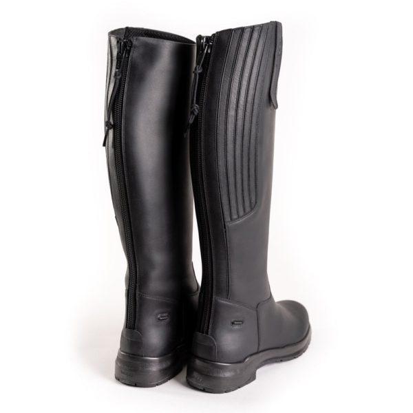 Toggi Calgary Pro - toggi calgary pro long leather boot black rear