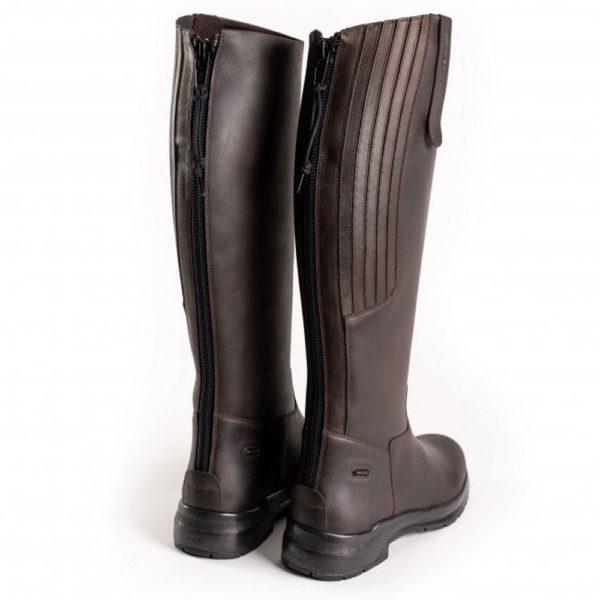 Toggi Calgary Pro - toggi calgary pro long leather boot cheeko back