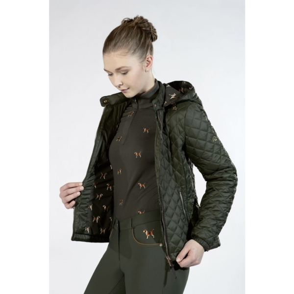 HKM Beagle Quilted Jacket - 12614 6