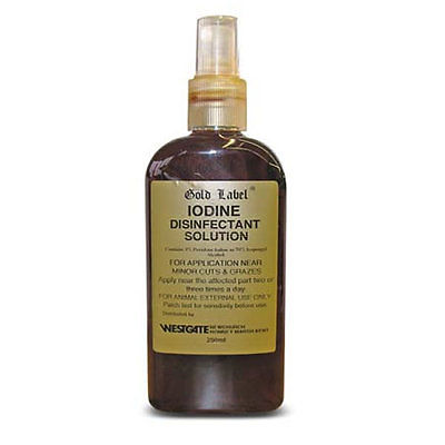 Iodine Disinfectant Solution