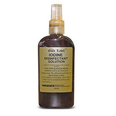 Iodine Disinfectant Solution