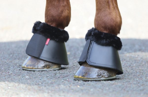 Fleece Trim Competition Over Reach Boots