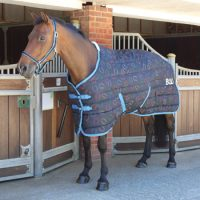 Bridleway Montreal Stable Rug - Horseshoe Design