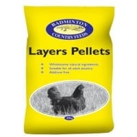Badminton Layers Pellets 20kg
