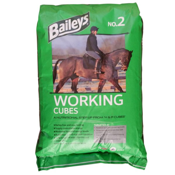 Baileys No. 2 Working Cubes