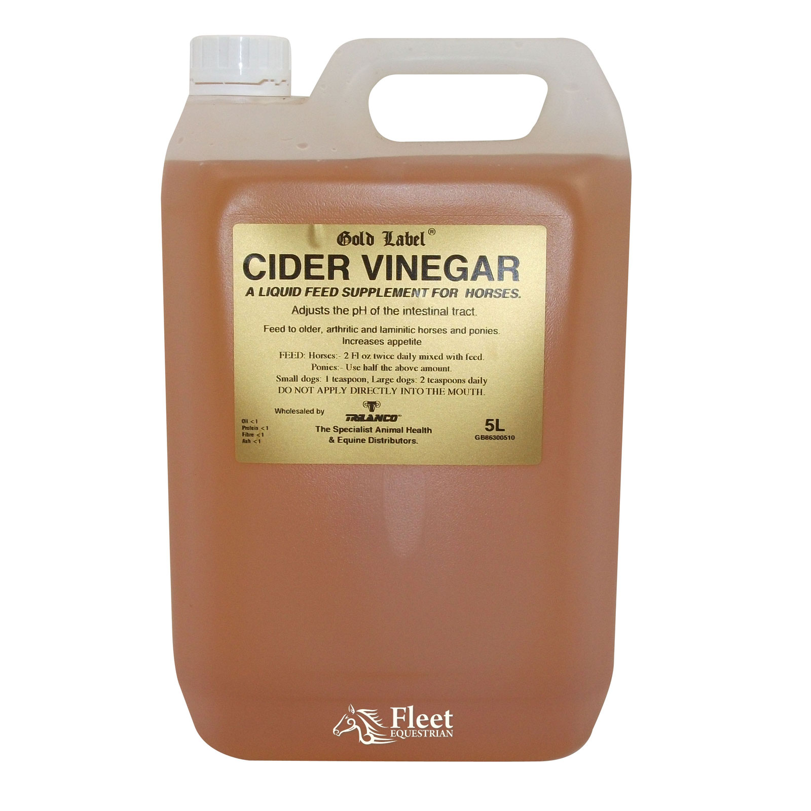Cider Vinegar for Horses