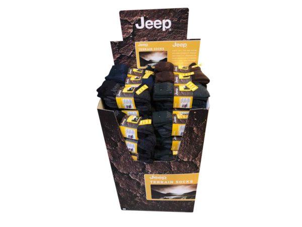Jeep Terrain Boot Socks 12 Pack