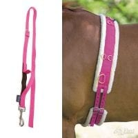 Shires Fleece Lined Nylon Lunge Roller & Side Reins