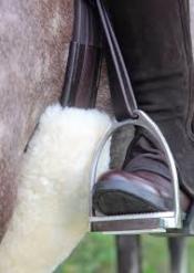 Bridleway Lambskin Girth Sleeve 90cm