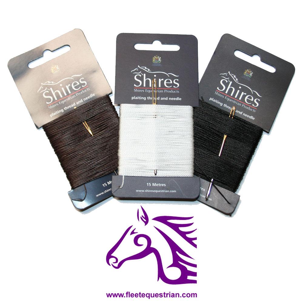 Shires Mane Plaiting Thread - FREE P&P