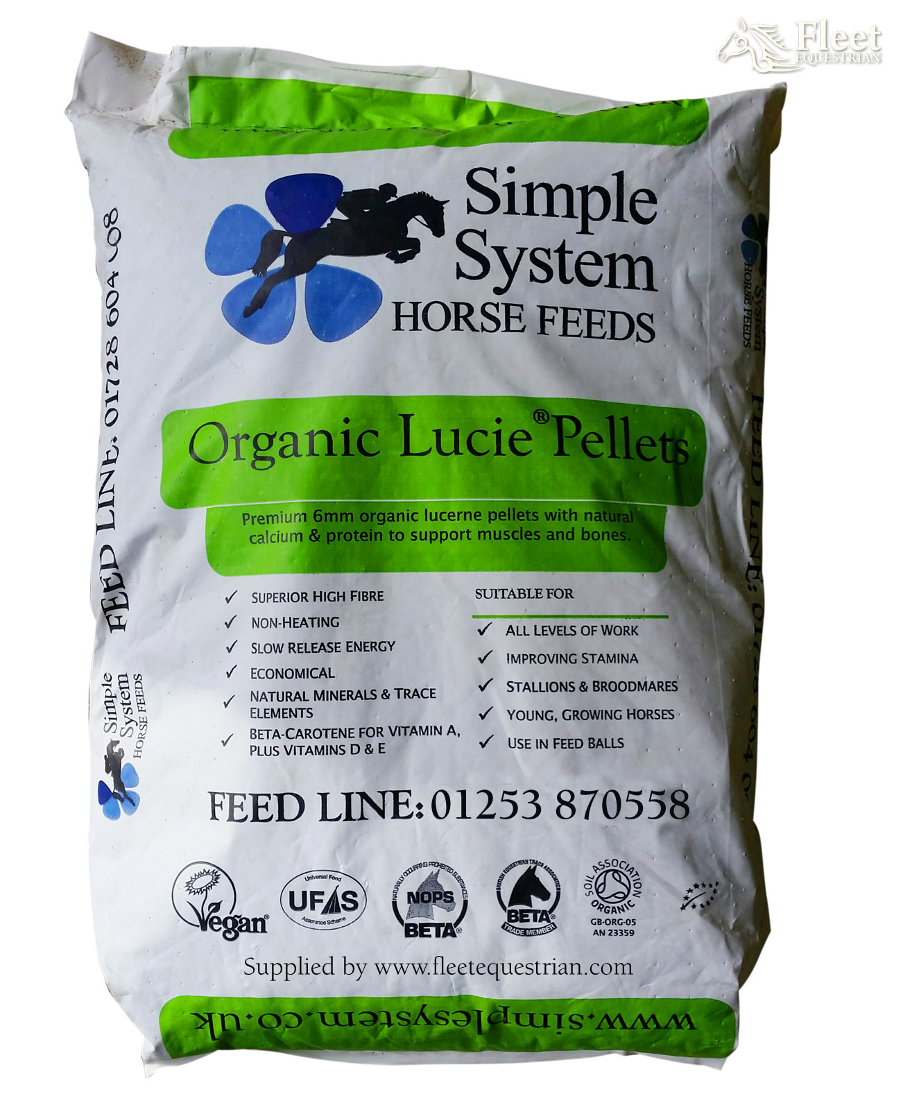 Simple System Organic Lucie Pellets