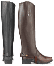 Brogini Ginny Long Boot Patent Top Childs