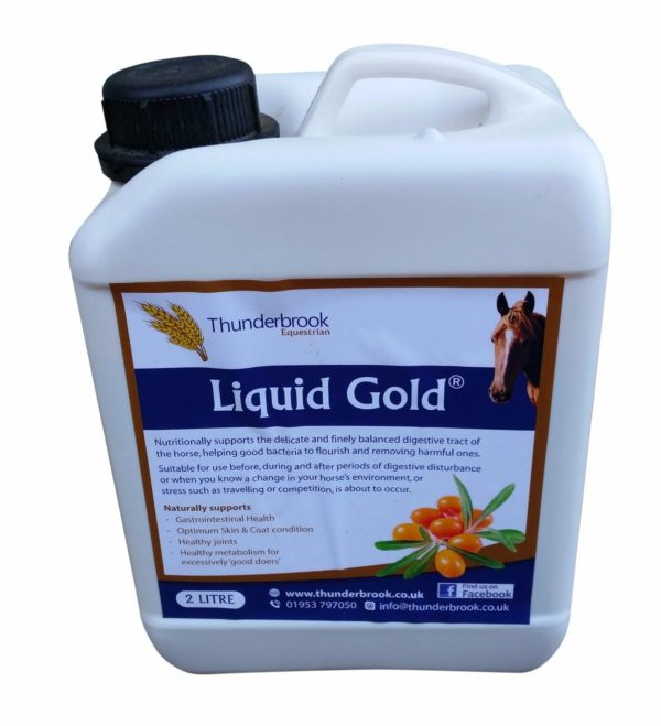 Thunderbrook Liquid Gold - Horse Supplement - Thunderbrook Liquid Gold Horse Supplement 222325842630
