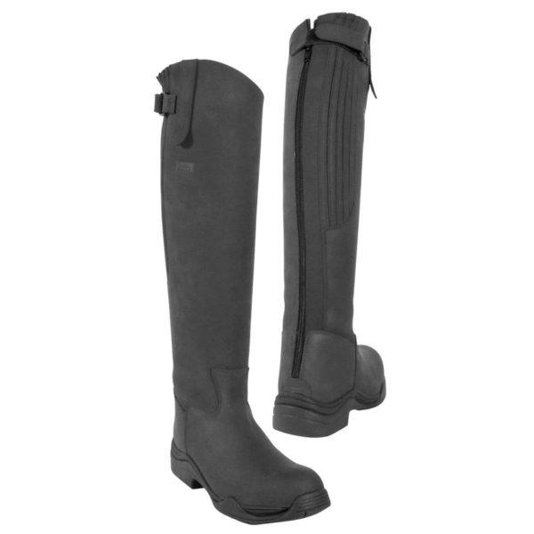 Toggi Calgary Boot Black Wide Leg - Toggi Calgary Boot Black Wide Leg Equestrian SAVE RRP 12500 321674946810