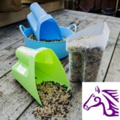 Scoopour Feed Scoop - Tubtrugs Scoopour Feed Scoop For Horses Dogs Livestock 321846797140