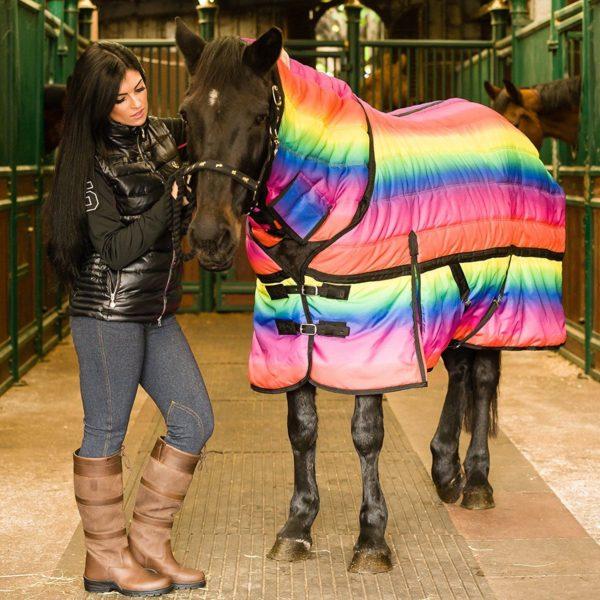 Rainbow 300g Combo Stable Rug - Rainbow 300g Combo Stable Rug 222731544251
