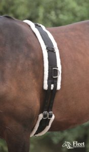 Shires Nylon Roller with Fleece Padding - Shires Nylon Roller with Fleece Padding New Colours 322522015835