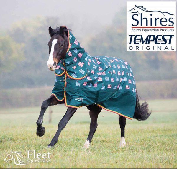 Shires Tempest Original 200 Combo - Shires Tempest Original 200 Combo Medium Weight Turnout Rug 222638584645