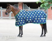 Bridleway Montreal Stable Rug - 220g Fill - New Green Apple Design - Bridleway Montreal Stable Rug 220g Fill New Green Apple Design 322725839107